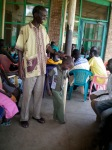 Juab Orphanage Director Abdul Wajo sharing a moment with one of the children