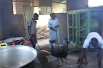 The kitchen at the Juba Orphanage
